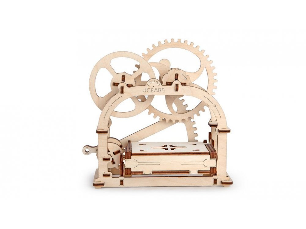 Ugears Mechanical box Ξύλινο Μηχανικό 3D Παζλ