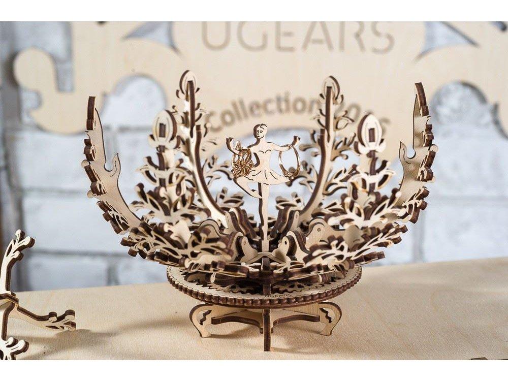 Ugears Mechanical Flower