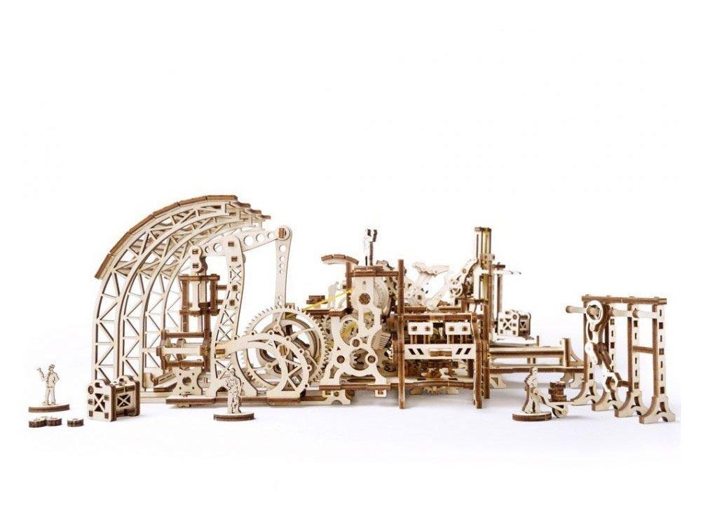 Ugears Robot Factory Model Ξύλινο Μηχανικό 3D Παζλ