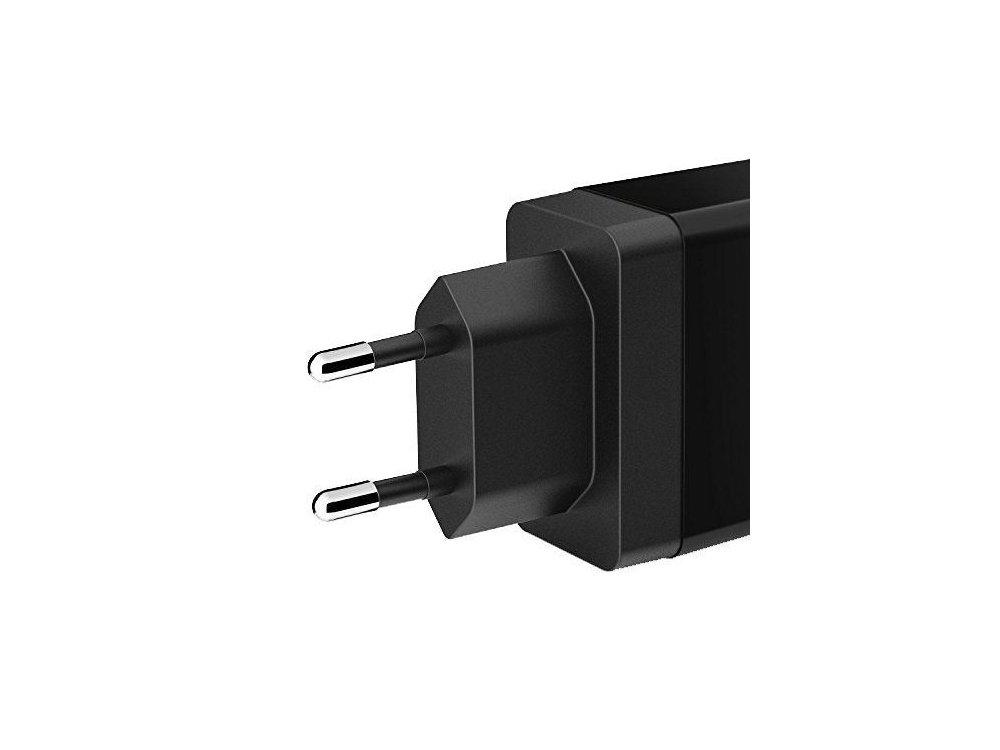 Anker Powerport 2-θυρών 24W, Μαύρος - A2021L11