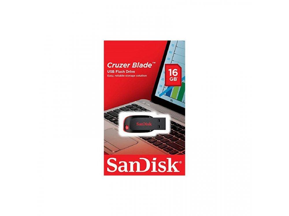 SanDisk Cruzer Blade USB 2.0 16GB Black