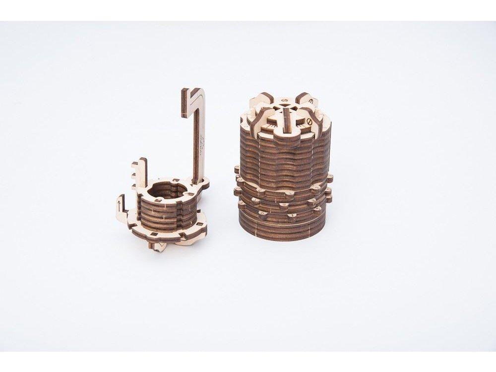 Ugears Combination Lock Ξύλινο Μηχανικό 3D Παζλ, 34 Κομμάτια - 70020