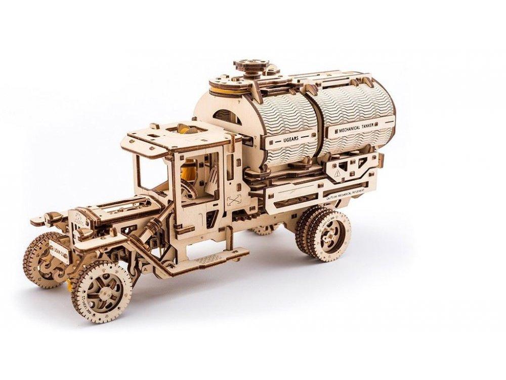 Ugears Tanker Ξύλινο Μηχανικό 3D Παζλ