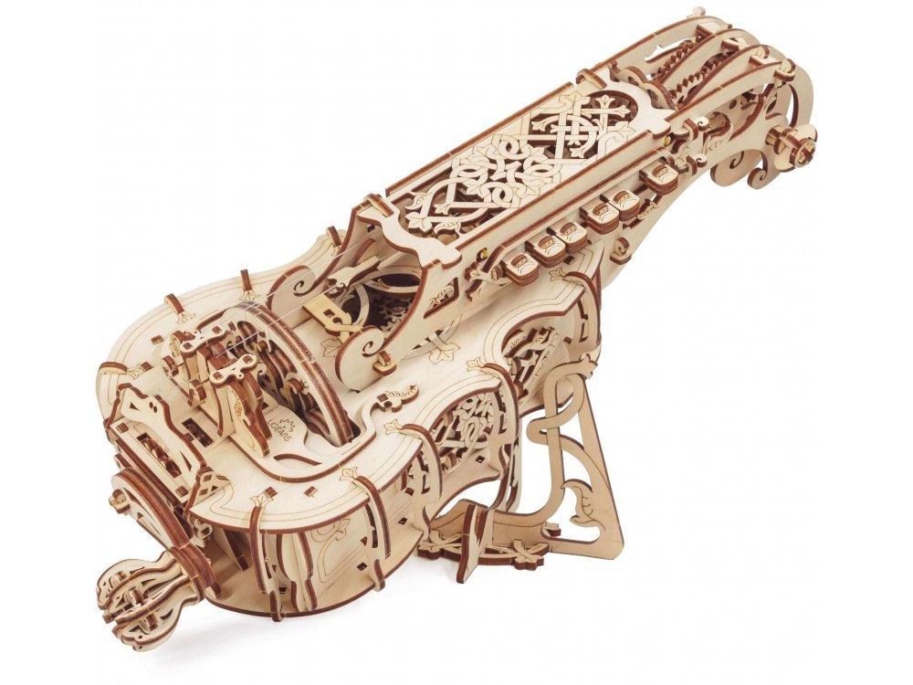 Ugears Hurdy-Gurdy Ξύλινο Μηχανικό 3D Παζλ