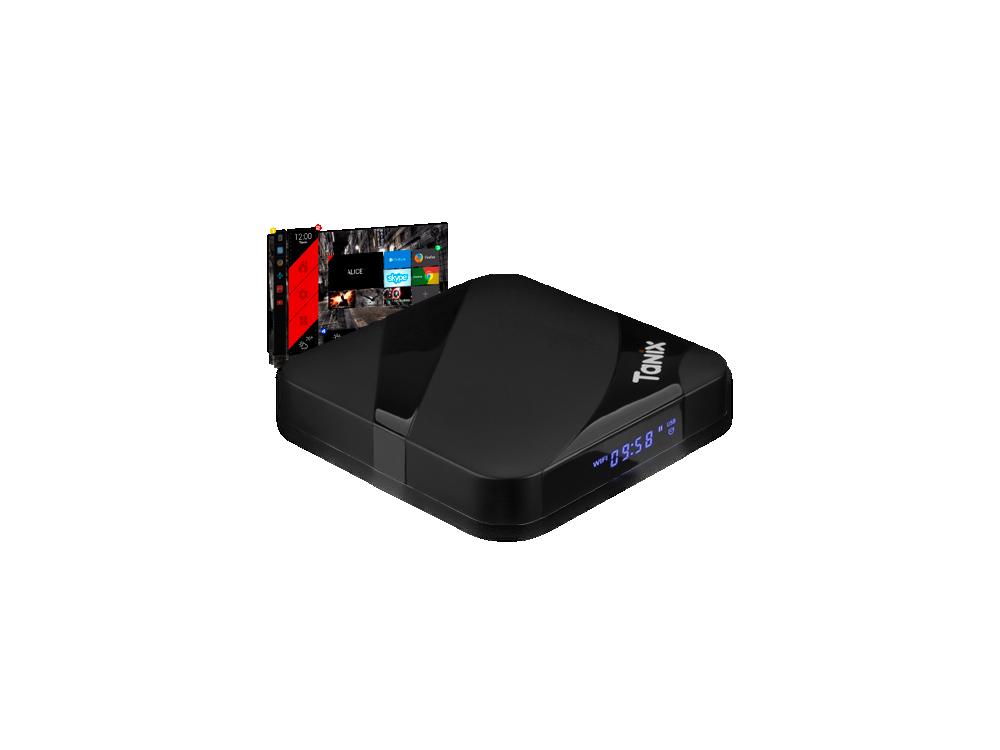 Tanix TX3 Max 4K 2GB 16GB S905W Android 7.1 Nougat TV BOX με Alice UX