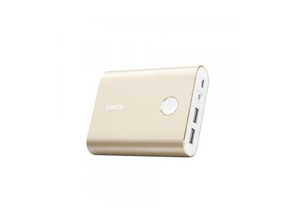 Anker PowerCore+ 13400 Power Bank 13.400mAh - A1316HB1, Χρυσό