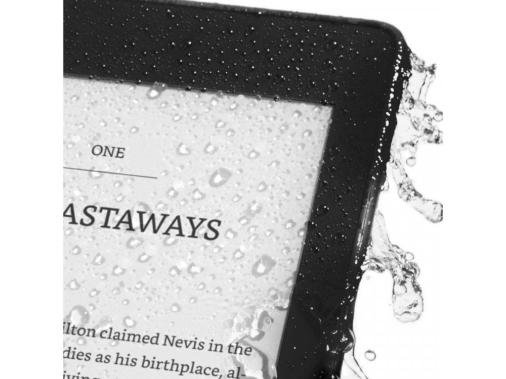 """Amazon All-New Kindle Paperwhite 2018, 6"""" High-Resolution Display (300 ppi) with Built-in Light, Waterproof, 32GB, Wi-Fi, Black (No ads)"""