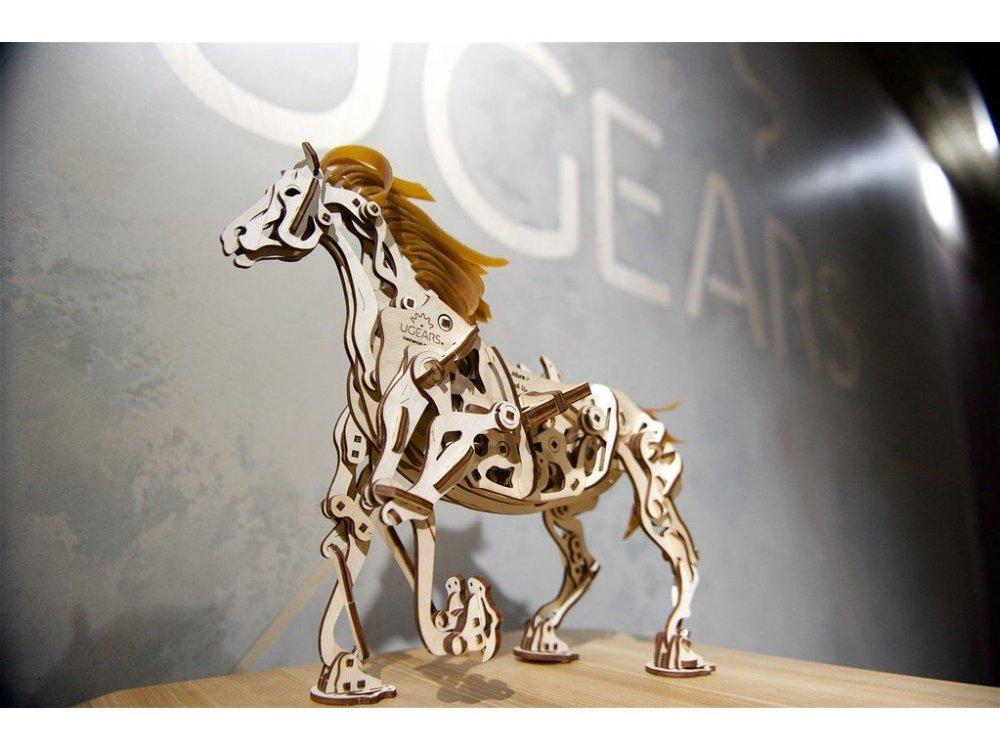 Ugears Horse-Mechanoid, Μηχανικό Άλογο Ξύλινο Μηχανικό 3D Παζλ