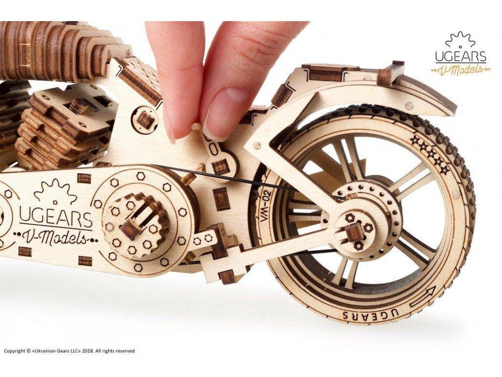 Ugears Bike VM-02 Wooden Mechanical 3D Puzzle