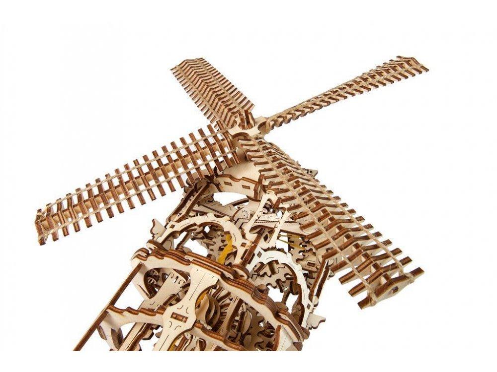 Ugears Windmill Tower Ξύλινο Μηχανικό 3D Παζλ