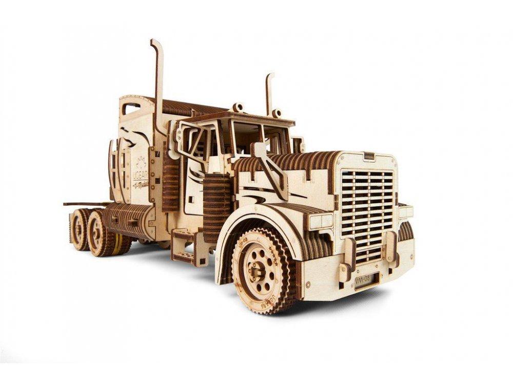 Ugears Heavy Boy Truck Ξύλινο Μηχανικό 3D Παζλ