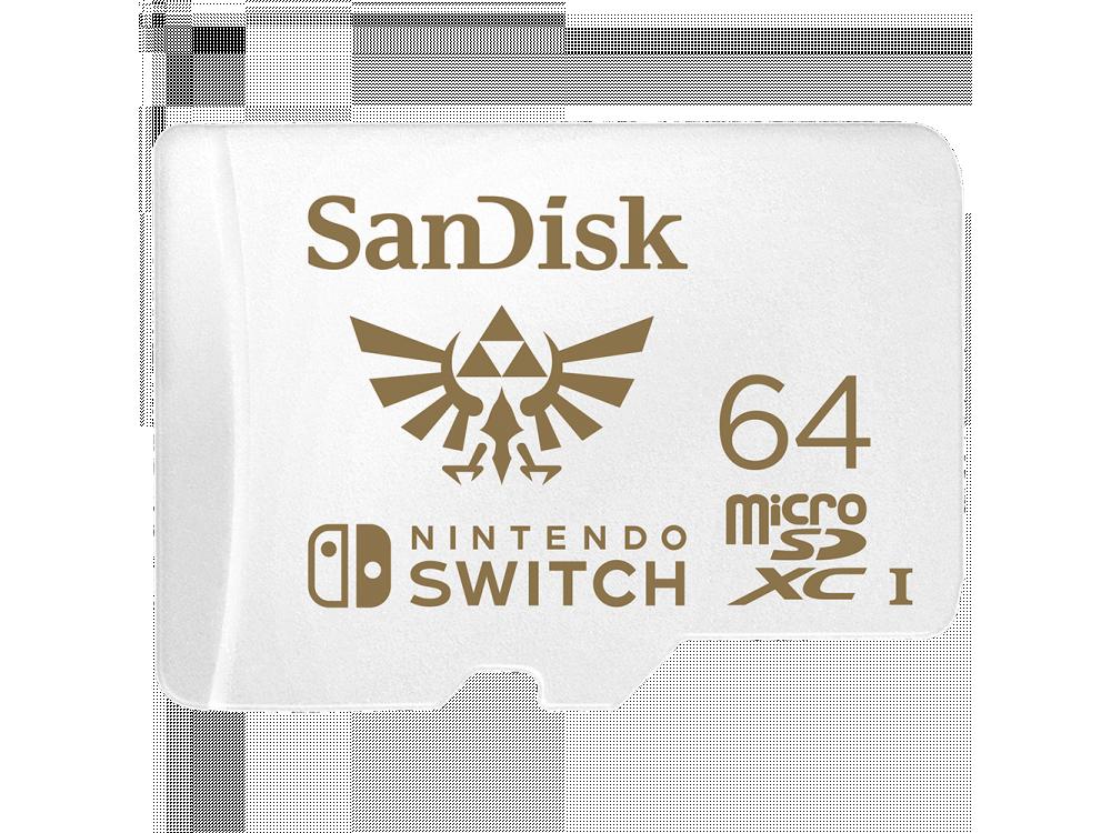 Sandisk micro SDXC 64GB card for Nintendo Switch - SDSQXAT-064G-GNCZN