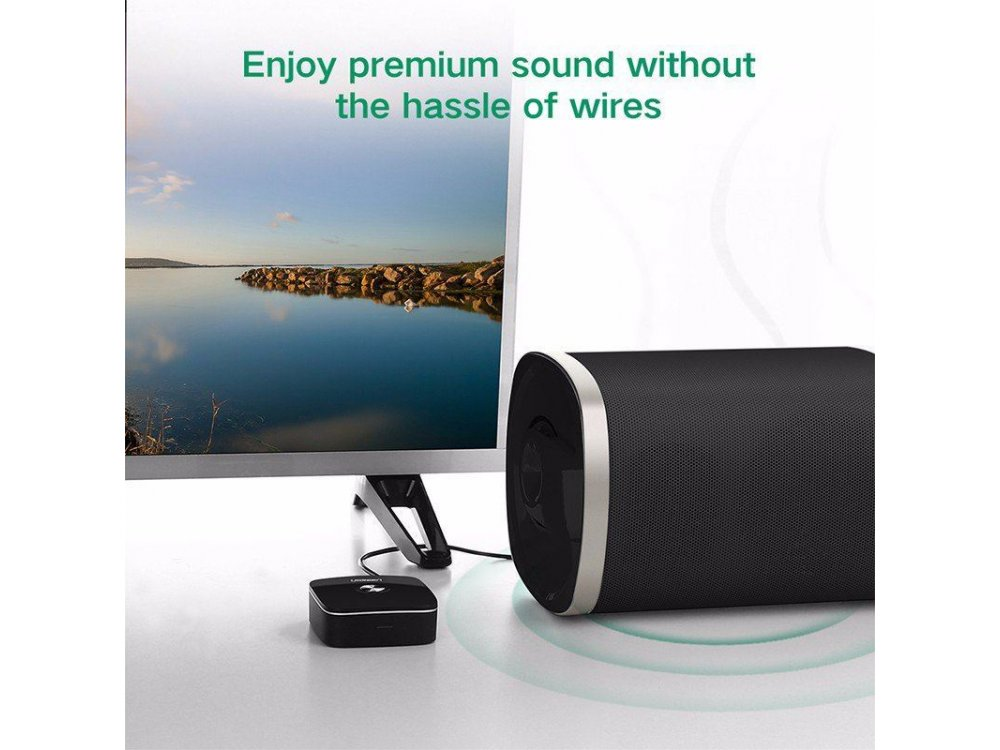 Ugreen Bluetooth Audio Receiver RCA, Adapter with 3.5mm - 30445