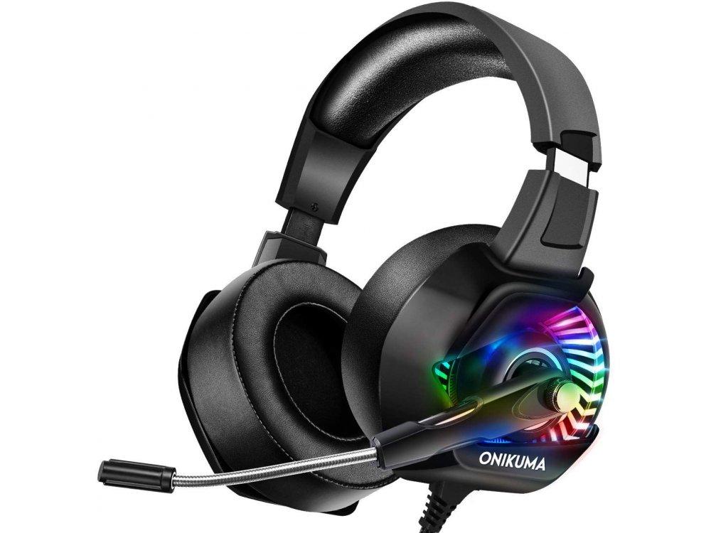 Onikuma K6 RGB Gaming Headset 7.1 (PC / PS4 / Xbox / Switch / Mac / iOS)