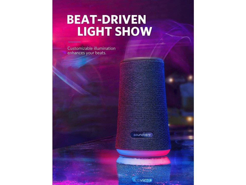 Anker Soundcore Flare+, Portable Waterproof Bluetooth 5.0 Speaker 25W - A3162011, Black