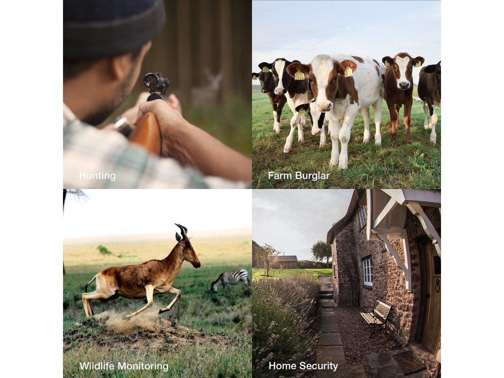 Apeman H45 Trail Camera Full HD 12MP, Night Vision, IP66, Κάμερα Κυνηγιού / Άγριας ζωής