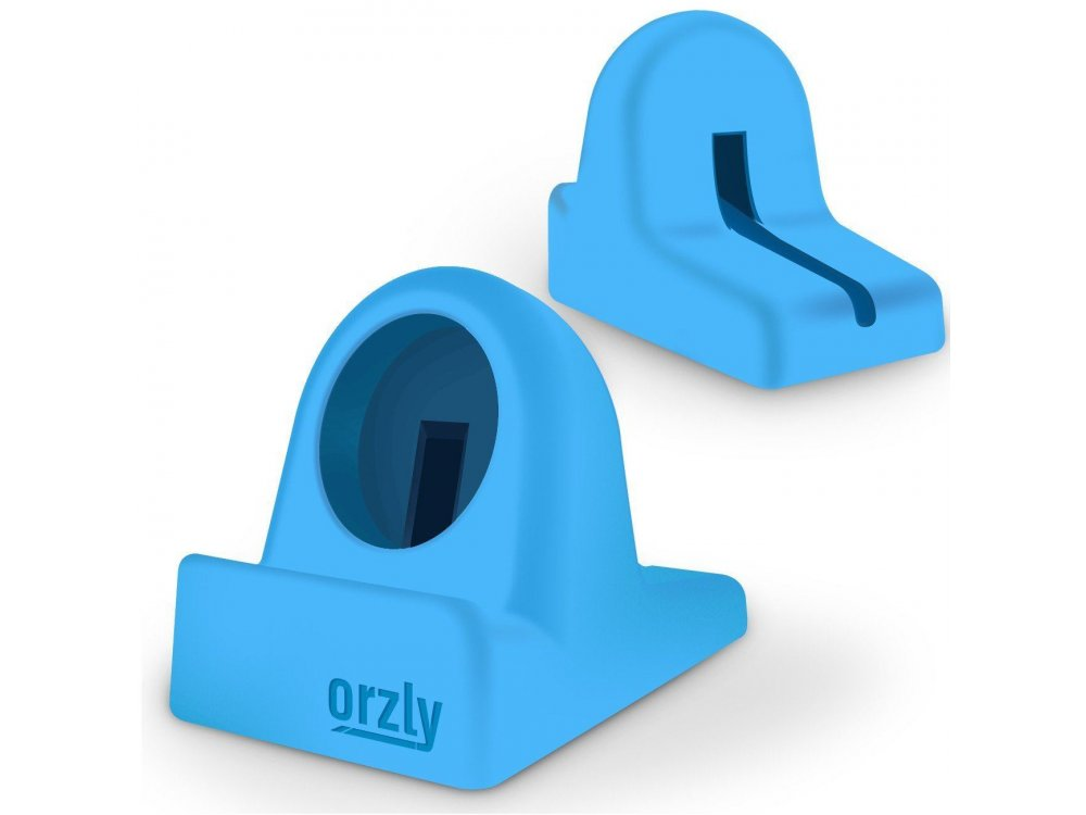 Orzly Compact Stand για Apple Watch (Charger, Night Stand Mode Compatible, Integrated Cable Management Slot), Μπλε