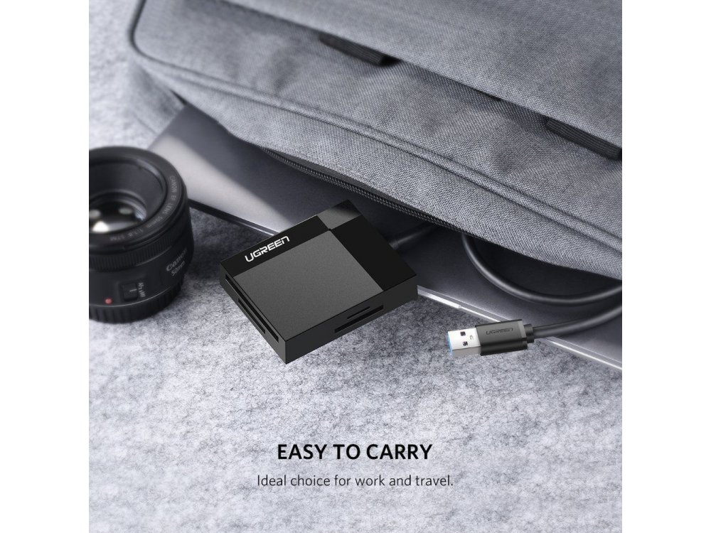Ugreen 4-in-1 Card Reader USB3.0 SD/Micro SD/Compact Flash/Memory Stick - 30231