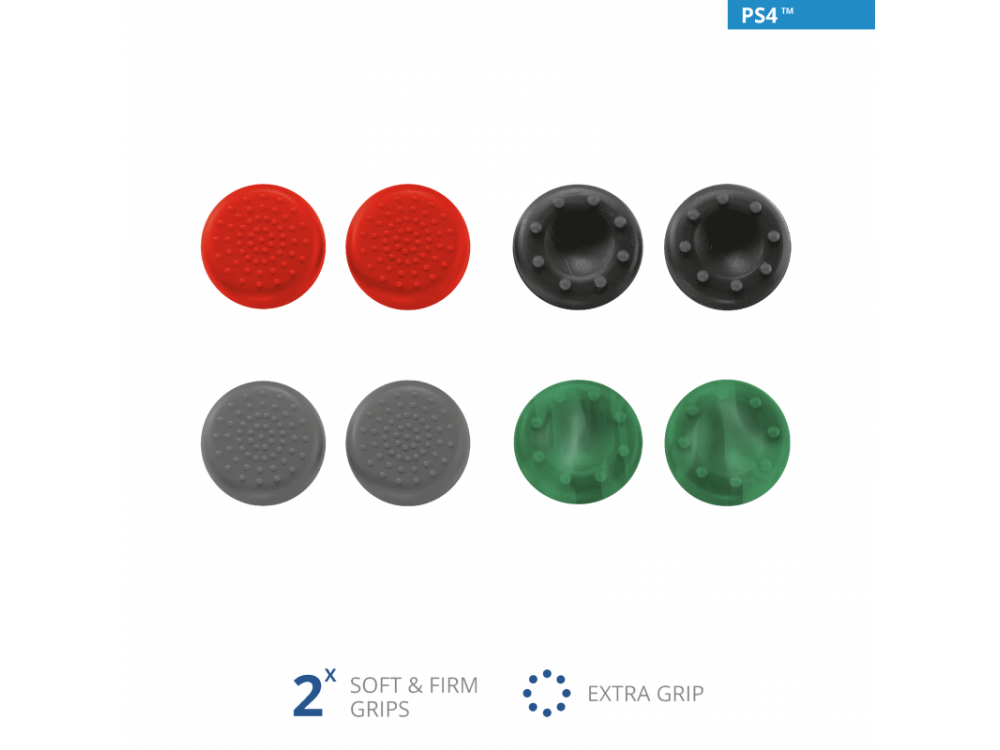 Trust Thumb Grips 8-Pack για PS4 Controller - 20814