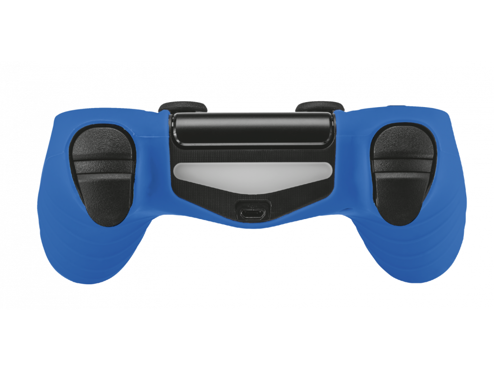 Trust GXT 744B Rubber Skin for PS4 Controller, Blue - 21213