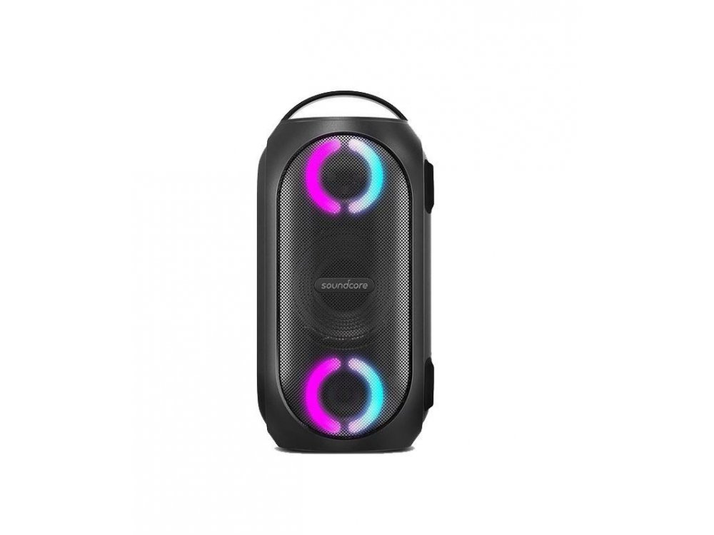 Anker Soundcore Rave Mini, Portable waterproof Bluetooth speaker 80W with LED - A3390G11, Black