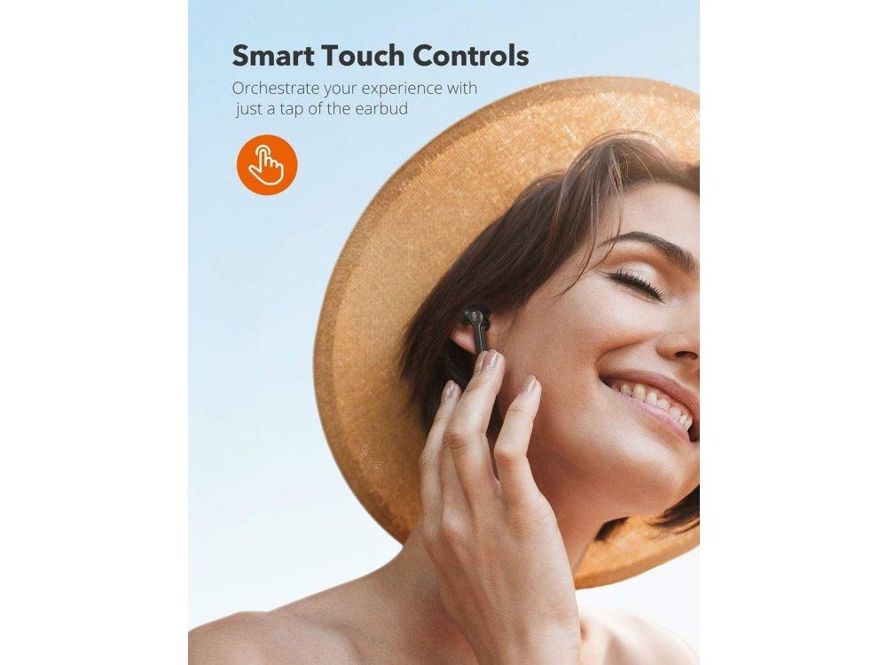 TaoTronics SoundLiberty 53 Bluetooth V5.0 Ακουστικά TWS, Μαύρα - TT-BH053