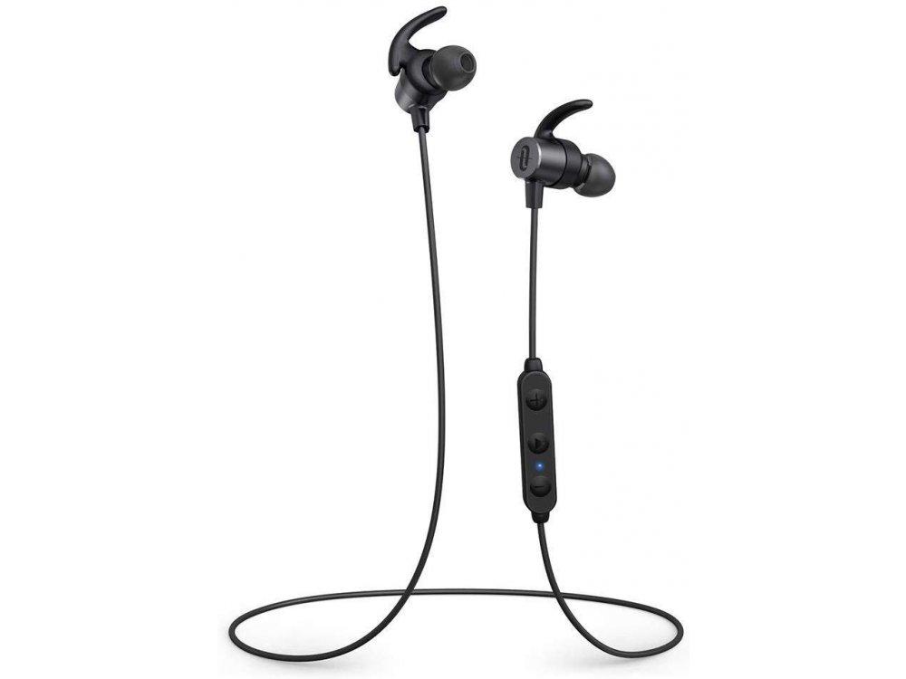 TaoTronics SoundElite 72 Bluetooth ακουστικά V5.0 με aptX HD & CVC 8.0, Μαύρα - TT-BH072