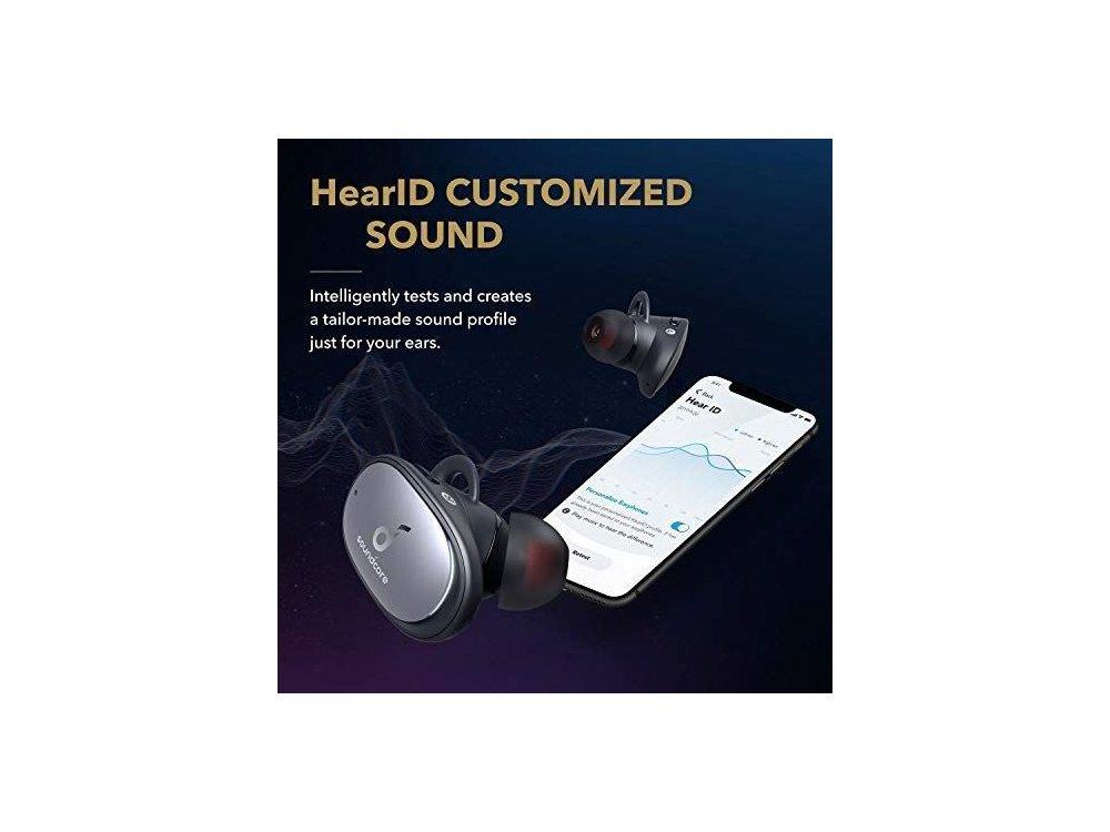 Anker Soundcore Liberty 2 Pro Bluetooth Ακουστικά TWS - A3909011, Μαύρα