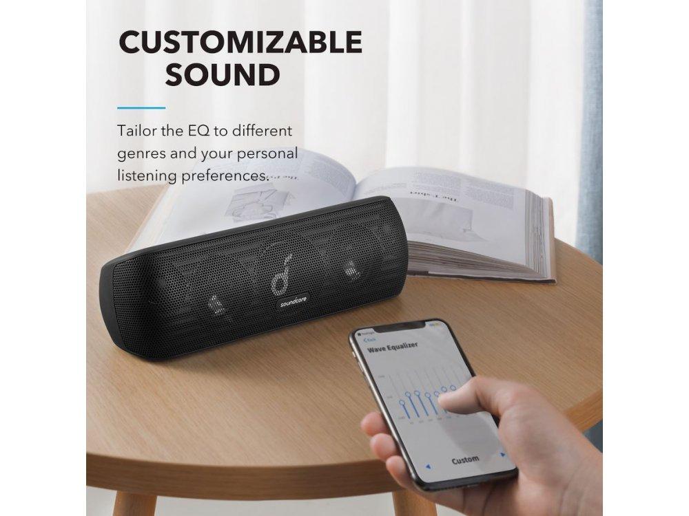 Anker Soundcore Motion+, Portable Bluetooth Speaker 30W, Black- A3116011
