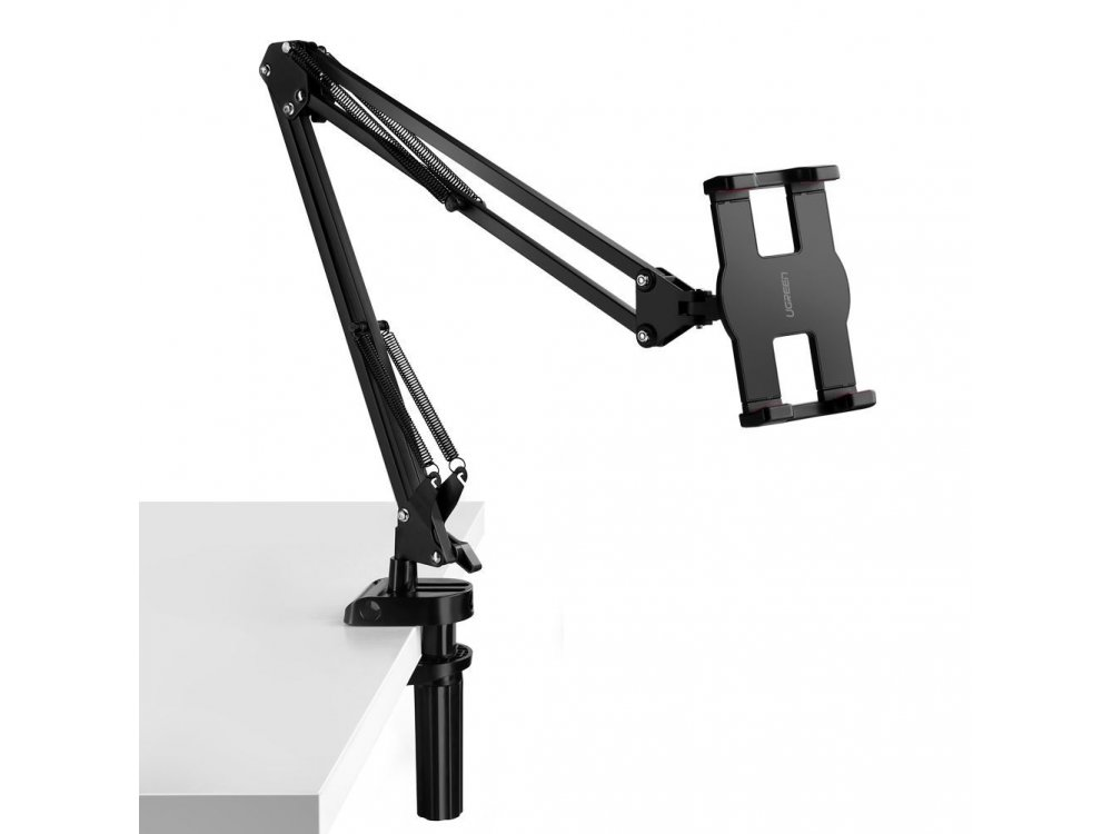 """Ugreen 360° Adjustable stand, with clamp, for Smartphone/Tablet 4""""-12.9"""", 67cm. length, black - 50394"""