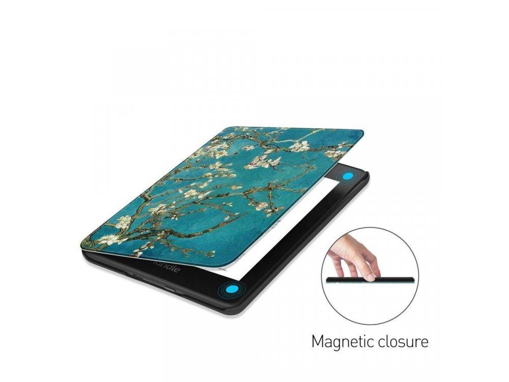 Tech-Protect Amazon Kindle 10th Generation (Kindle 2019) SmartShell case, Magnolia