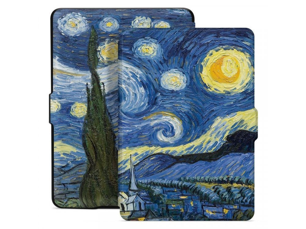 Tech-Protect Amazon Kindle 10th Generation (Kindle 2019) SmartShell case, Starry Night