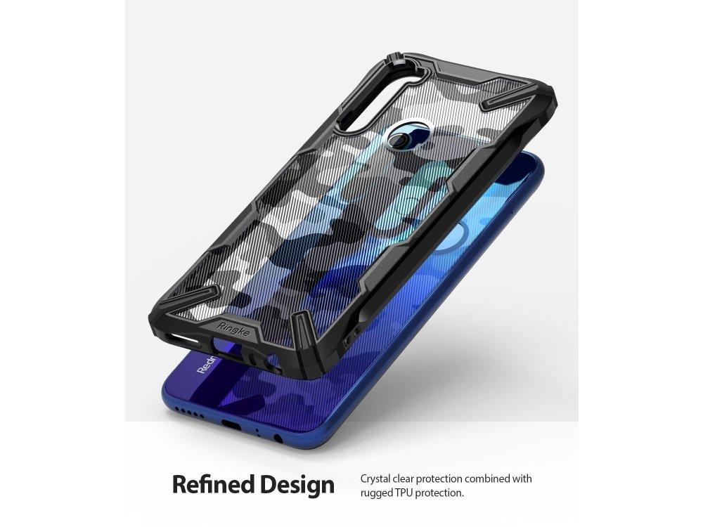 Ringke Fusion X Xiaomi Redmi Note 8 Θήκη, Camo Black