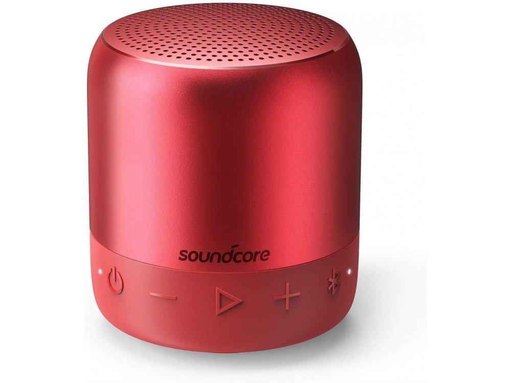 Anker Soundcore Mini 2, Φορητό Bluetooth Ηχείο 6W TWS - A3107091, Κόκκινο