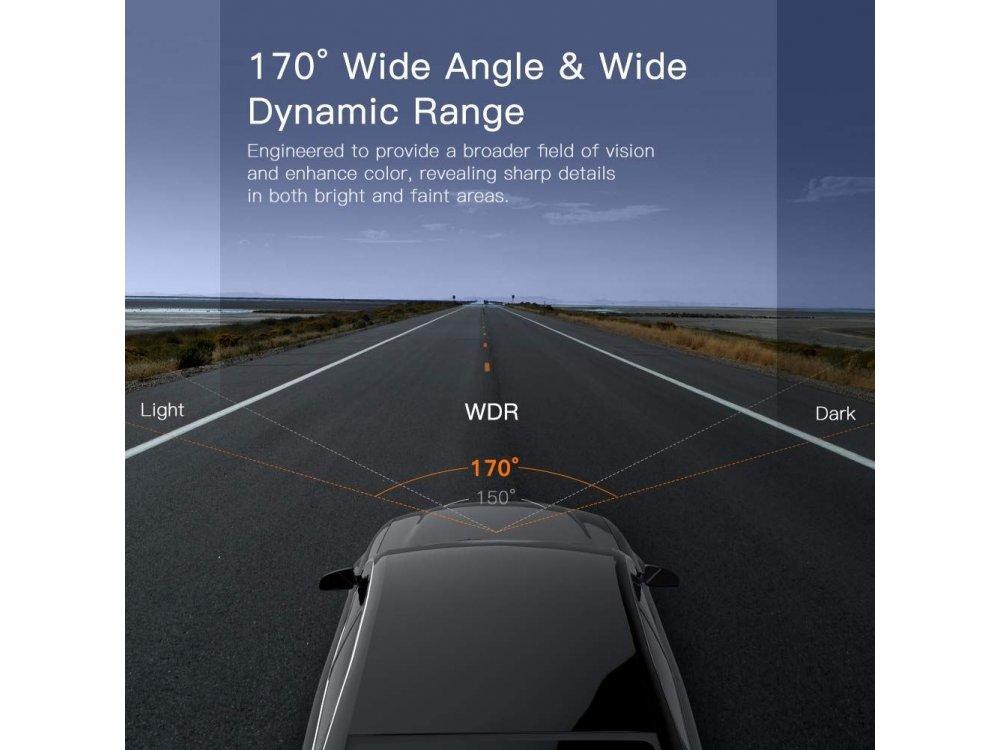 Apeman Dash Camera C450 1080p, G-Sensor, Super Night Vision, Parking monitoring