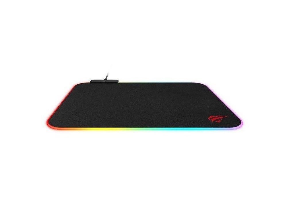 Havit HV-MP901 L Gaming Mouse Pad (36x27cm) με RGB LED, Μαύρο