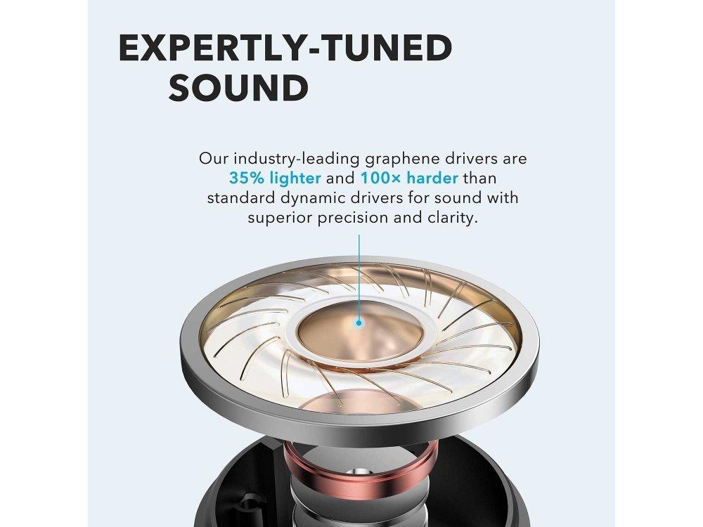 Anker Soundcore Life P2 Bluetooth Ακουστικά TWS - A3919011, Μαύρα