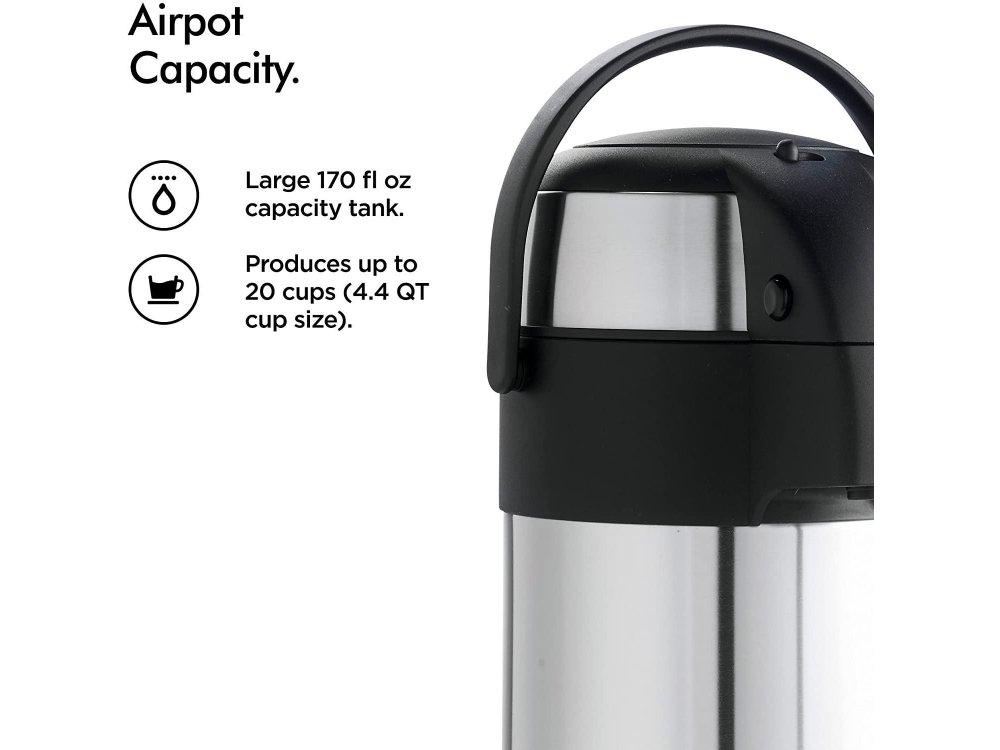 VonShef Air Flask 5 Λίτρων με Αντλία, Safety Lock & Λαβή - 07/177