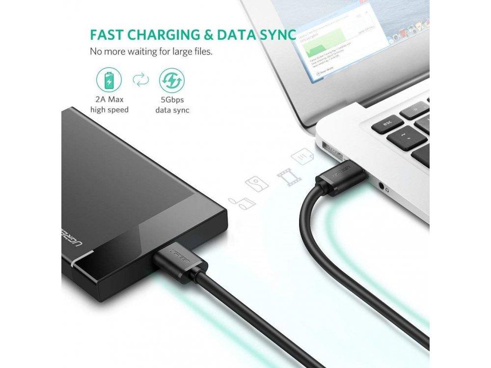 Ugreen USB 3.0 Cable σε Micro-B (USB 3.0 B) 2μ. Καλώδιο εξωτερικού σκληρού δίσκου - 10843