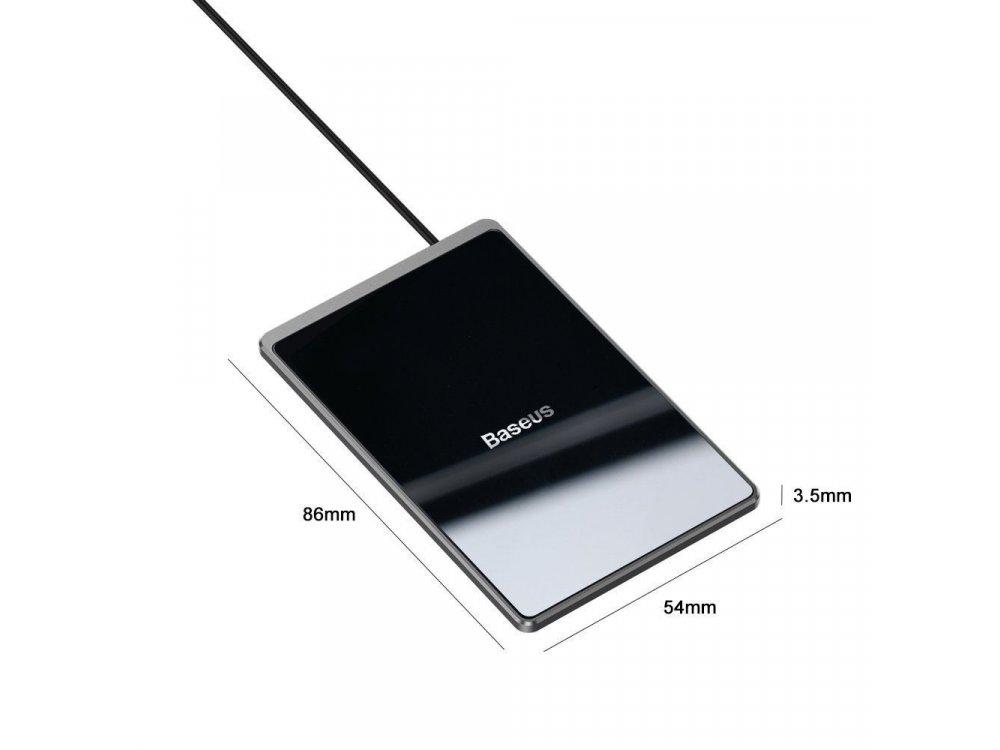 Baseus Ultra-thin 7.5/10/15W Ασύρματος φορτιστής - LXWCD01B