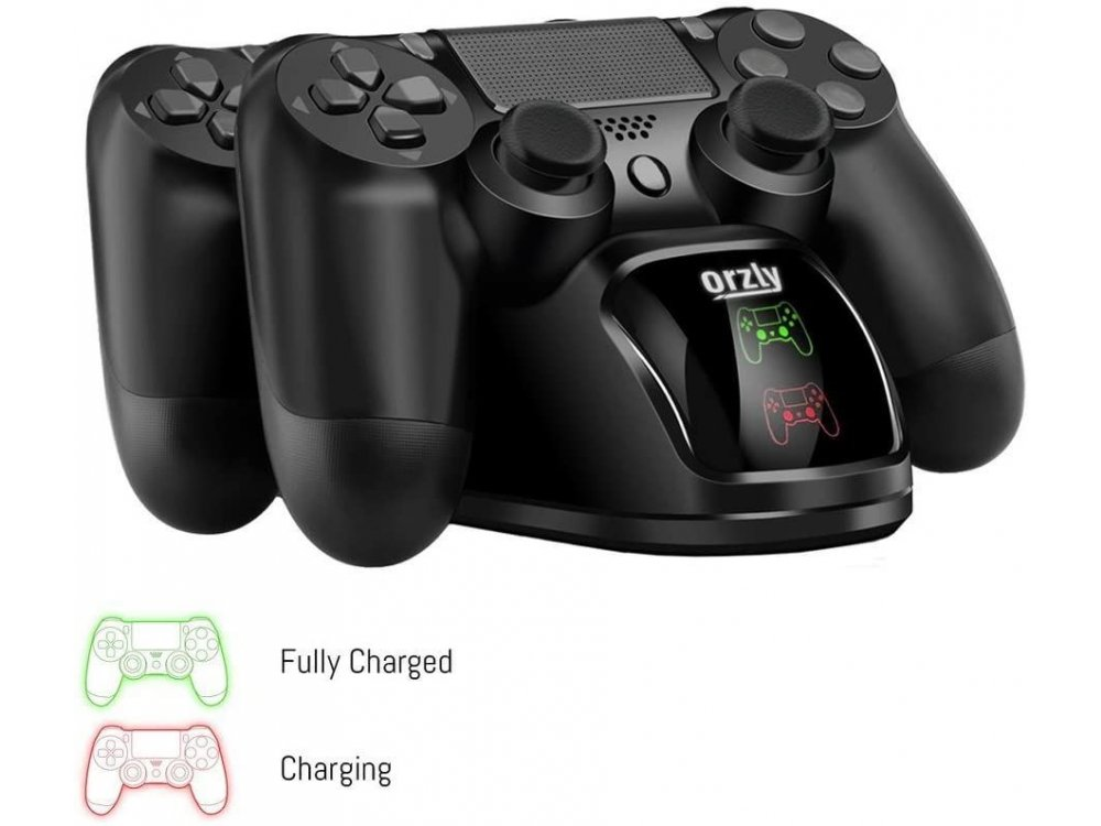 Orzly Dual Charging Station for controller Sony PS4