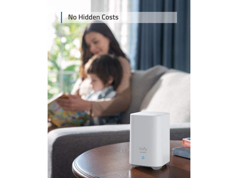 Anker Eufy Doorbell 2K Set, Self-Installation, no-Fee, AI Human Detection, 2-Way Audio & App - E82101W4