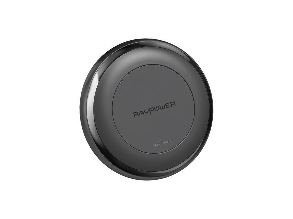 RAVPower Turbo Qi 7.5/10W Ασύρματος φορτιστής, Σετ με φορτιστή & καλώδιο - RP-PC058