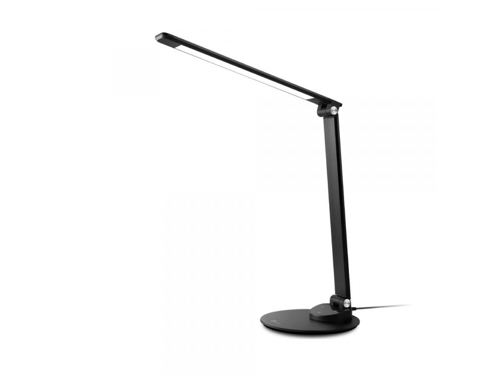 TaoTronics TT-DL19 LED Desk Lamp with Touch Control & USB port, 5 Color Modes, 5 Brightness Levels, Black