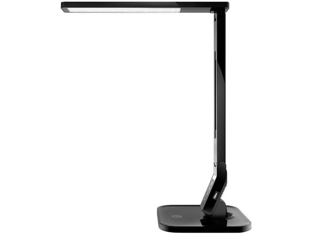 TaoTronics TT-DL01 Touch control Desk lamp with  USB port, 4 Color Modes, 5 Brightness Levels, Timer, Night Light, Black