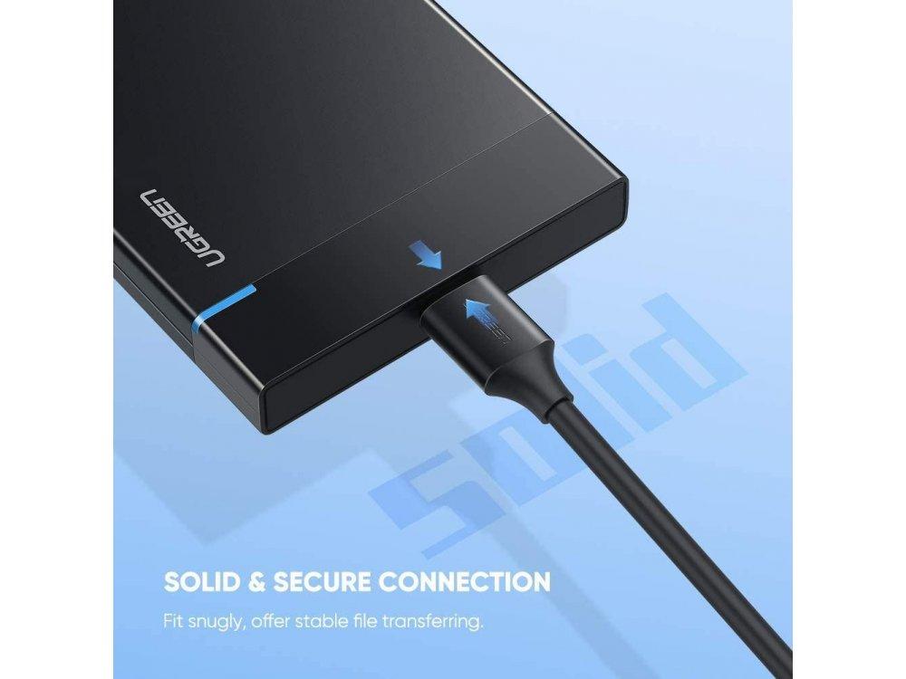 Ugreen USB-C Cable σε Micro-B (USB 3.0 B) 1μ. Καλώδιο εξωτερικού σκληρού δίσκου - 20103
