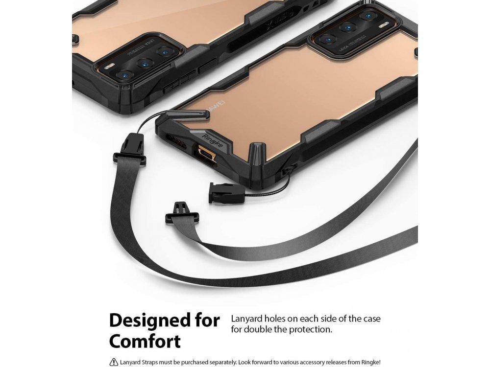 Ringke Fusion X Huawei P40 Case, Black