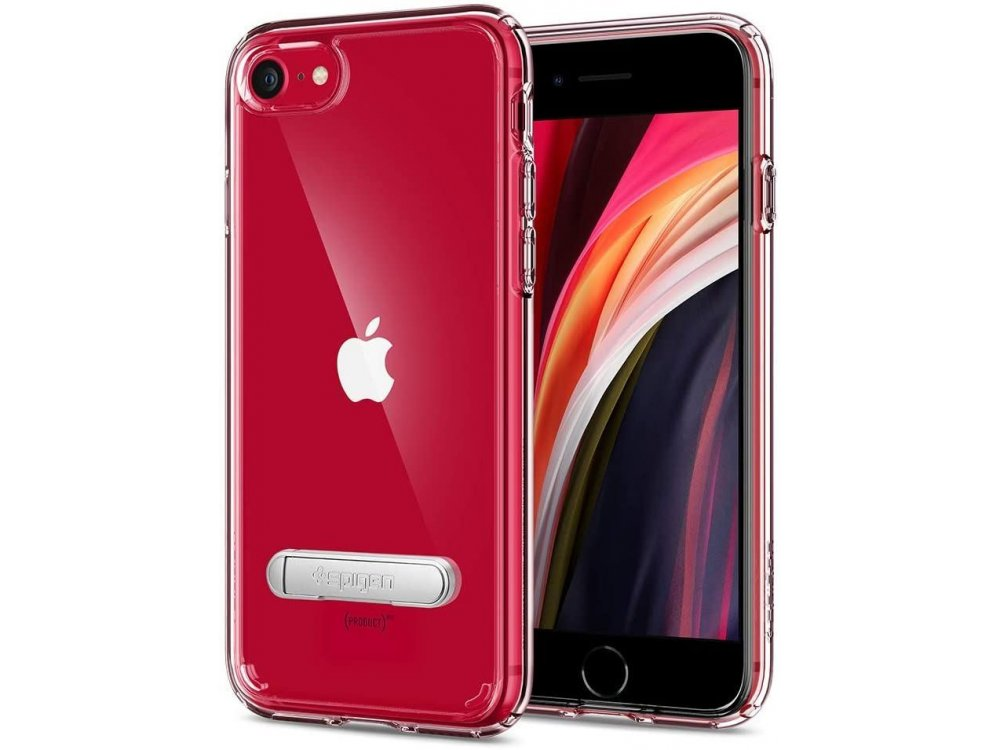Spigen iPhone SE 2020 / 8 / 7 Ultra Hybrid S Case, Crystal Clear - 054CS22213
