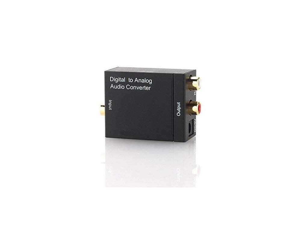 Nordic Digital to Analog Audio Converter, DAC Coaxial/SPDIF/RCA/3.5mm adapter - SGM-107