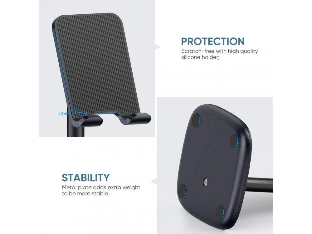 Ugreen Desktop Bracket Holder/ Stand for Smartphone/Tablet, Black - 60324